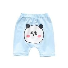 Летние шорты для малышей; одежда для маленьких мальчиков и девочек; короткие детские повседневные шорты до колена с рисунком; модные