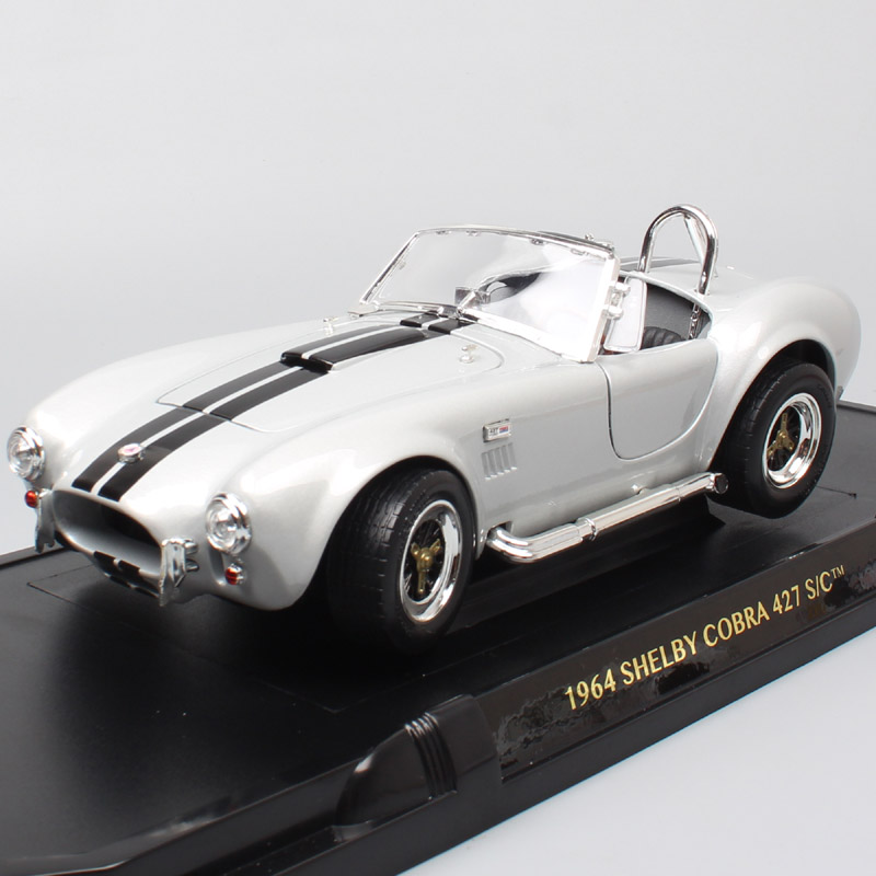 1/18 large classic car 1964 Ford Shelby AC Cobra 427S/C racing scale cars model metal Diecasts & Toy Vehicles miniature for kids1/18 large classic car 1964 Ford Shelby AC Cobra 427S/C racing scale cars model metal Diecasts & Toy Vehicles miniature for kids