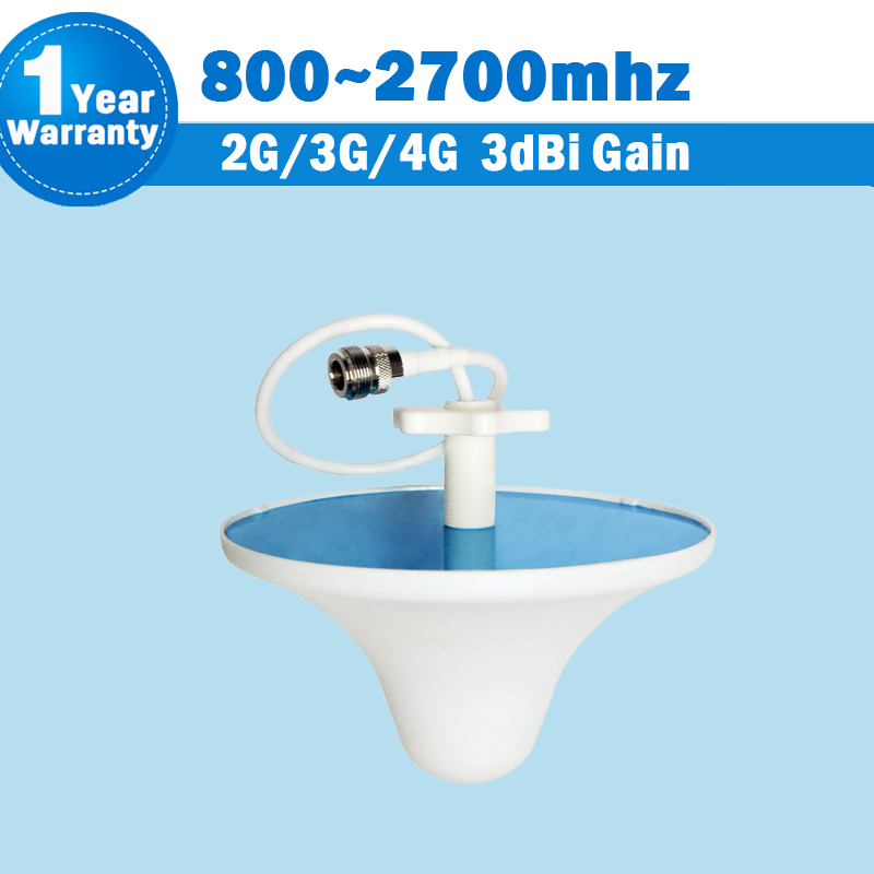 2G 3G 4G CDMA 850 GSM 900 1800 2100 LTE 2600 3dBi 800/ 2700MHz Indoor Ceiling Antenna Internal Antenna Mobile Siganl Booster S41