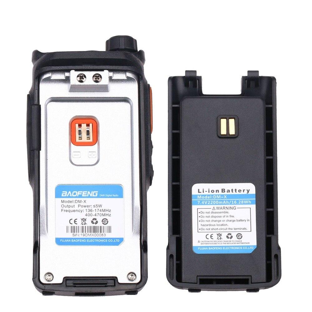 BAOFENG DM-X GPS Walkie Talkie Dual Time Slot DMR Digital/Analog DMR Repeater Upgrade of DM-1801 DM-1701 DM-1702 Two Way Radios