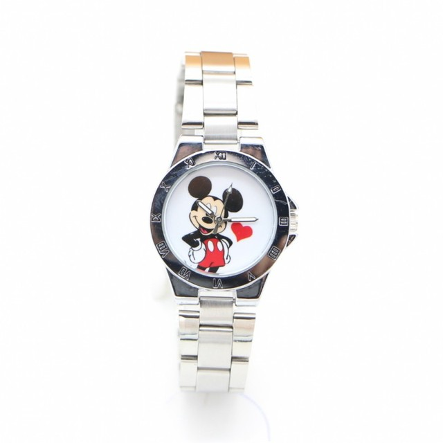 New ladies Minnie Luxury watch stainless steel Fashion Quartz Watches kids women