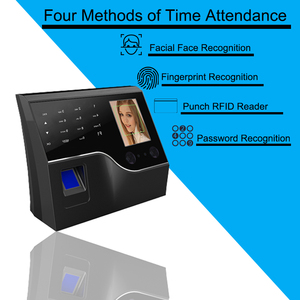 Image 4 - بصمة وقت نظام تسجيل الحضور البيومترية الموظف على مدار الساعة بصمة الوجه USB/TCPIP وقت آلة نظام التحكم في الوصول الباب