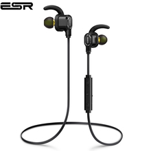 ESR Wireless In Ear Earphones with Dual Drivers Light Bluetooth Earbuds Secure-Fit Sports Bass Boost HD Sound Mic