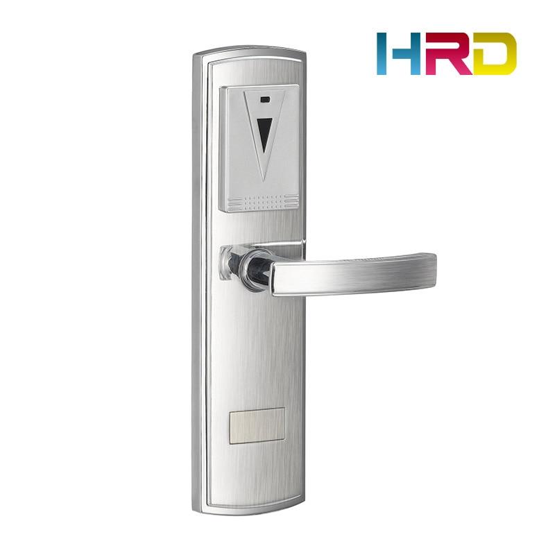 New Design Zinc Alloy RFID Electronic Hotel Lock Door Lock System Hotel Card Lock цены онлайн