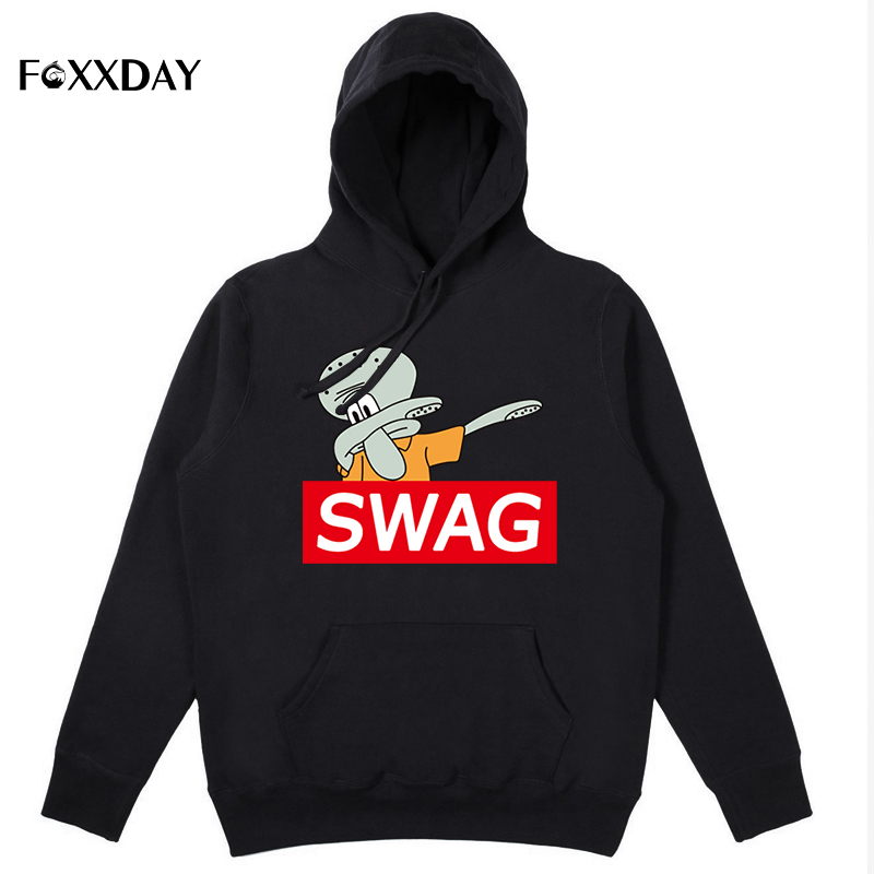2018 Autumn Fashion Dabbing Pug Hoodie Newest Men Funny Sweatshrits Dabbing animal Tops Hip Hop streetwear Hooded Pullover