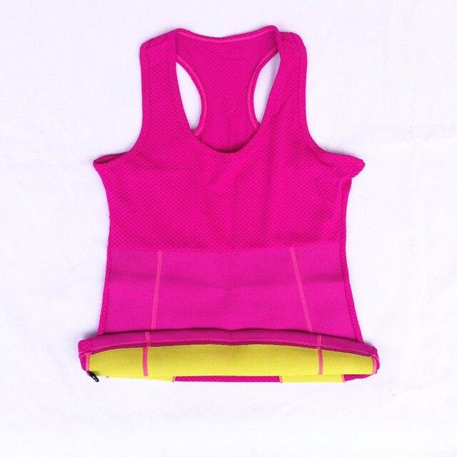 5855392ce7d1b Hot Stretch Neoprene Slim Underwear Body Shaper Slimming Vest Bra Waist  Training Corsets Plus Size Body