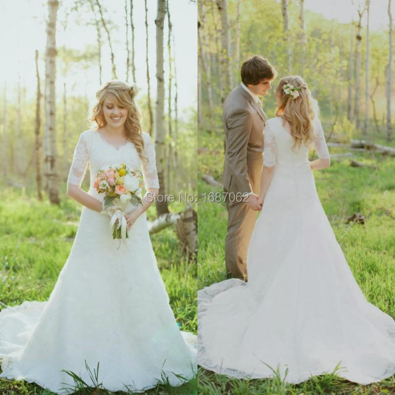 Cheap Modest Wedding Dresses - Ocodea.com