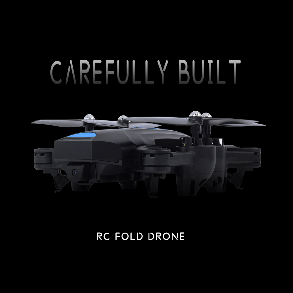 A6W RC Drone Foldable/aircraft/helicopter FPV Wifi RC Quadcopter 2.4GHz Remote Control Dron with HD Camera VS visuo Xs809hw E58 rc drone hd camera 2 4g 6 axis gyro remote control s9 s8 aircraft helicopter drones white black dron vs xs809w