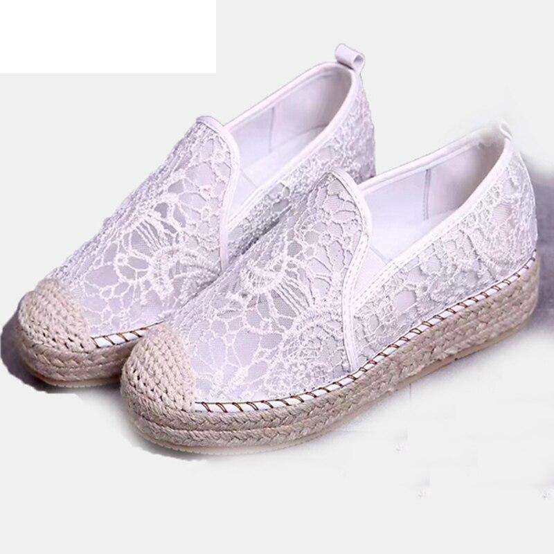 2 Ressort Plat Femmes Mulheres Sapatos Arrivée Dentelle 1 Baleriny Chaussures Mocassins Que Slip Nouvelle Oxford Para Mode on Infirmière rUqHrnFd