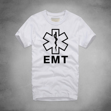 Ambulance Technician Emt T-Shirts Brand New Clothing Men's Pure Cotton T Shirt Hip Hop Short Sleeve Round Neck t Shirt Clothes