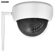 WiFi Camera Outdoor Wi-Fi IP Camera HD 1080P Wireless Home Security Dome Fixed Indoor Video Monitor Night Vision with Audio P2P