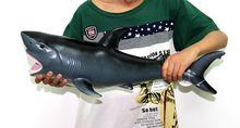 53CM Large Animal Shark Marine Simulation Model Dolphin crocodile Action Figure Turtle models Christmas Birthday Gift for Kids