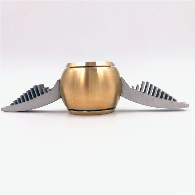 Golden Snitch Hand Spinner Fidget Toy for EDC ADHD Harry Potter Figit Spinner Metal Anti Stress