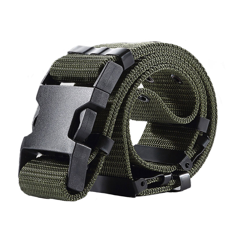 Militari Belt Men Attrezzature Tactical Belt Police Waist Belt Canvas Hunting Airsoft Paintball Nylon Waisband, cintura, sander, borsa della cintura, Belton tx,belterra,beltane,fibbia,beltsville md,belton mo,cintura alimentata 22lr
