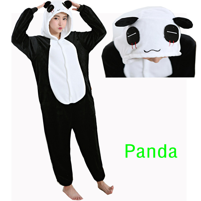 panda footie pajamas for adults breeze clothing