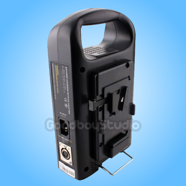 bilder für Rolux 2-kanal dual v-mount v-lock li-ion bp batterie ladegerät
