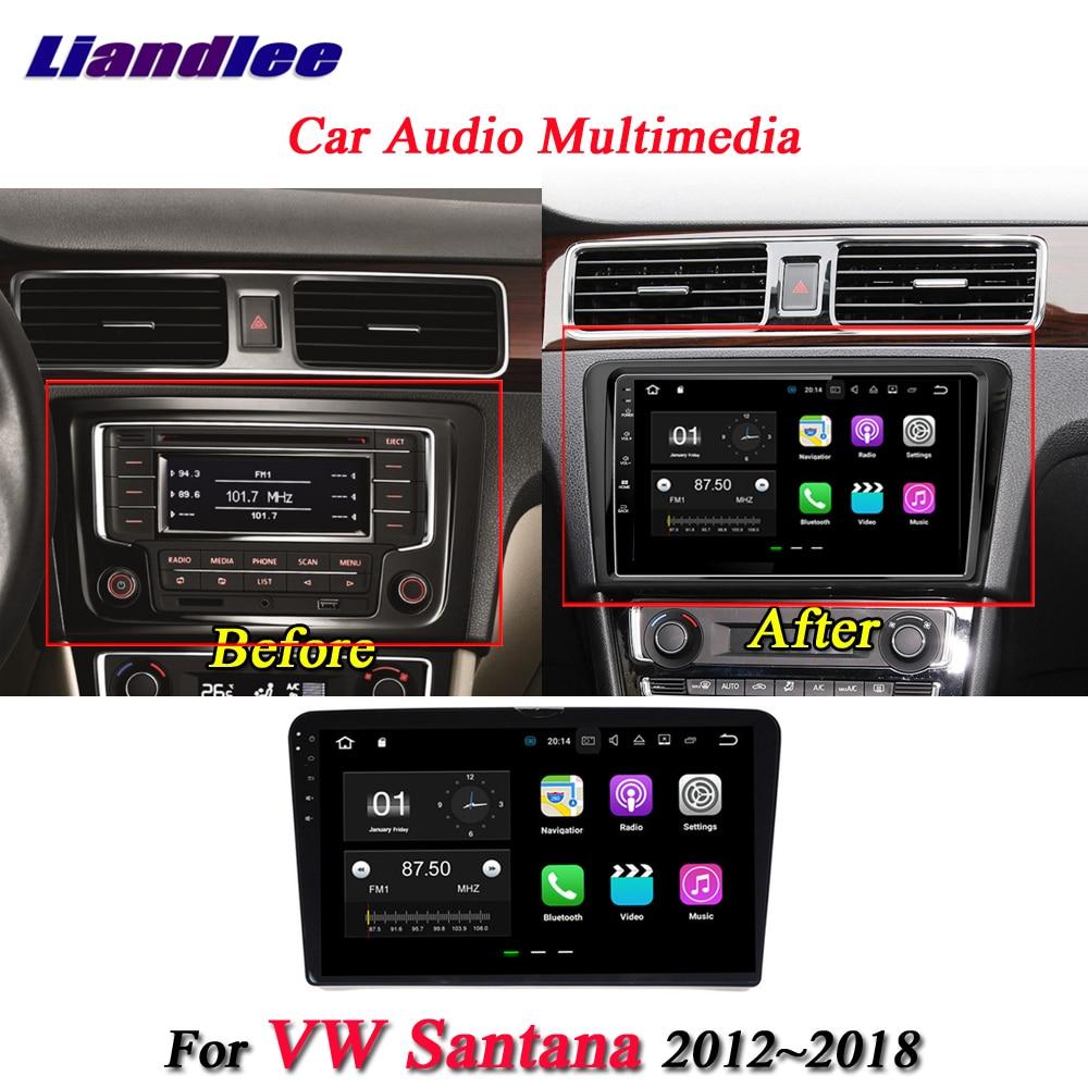 Liandlee Car Android System For Volkswagen VW Gran Santana 2012~2018 Radio GPS Nav Navigation Stereo HD Screen Multimedia No DVD