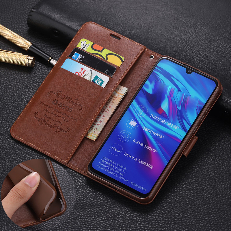 For Huawei <font><b>Honor</b></font> <font><b>10i</b></font> 6.21'' <font><b>Case</b></font> Fashion Flip PU Leather Stand <font><b>Case</b></font> For For <font><b>Honor</b></font> 8S 8X Book Style Phone Cover image