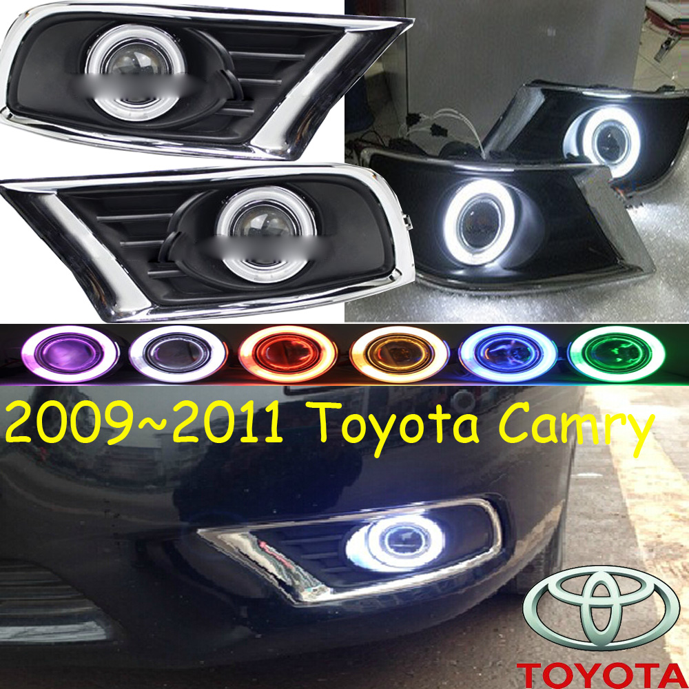 Car-styling,Camry fog lamp,2009~2011,chrome,LED,Free ship!2pcs,Camry head light,car-covers,Halogen/HID+Ballast;Camry camry mirror lamp 2006 2007 2008 2009 2011 camry fog light free ship led camry turn light camry review mirror camry side light