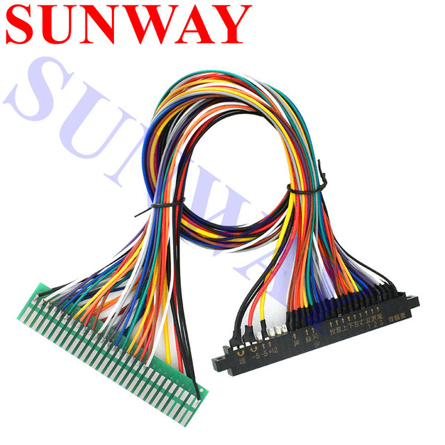 US $6.15 |Top Quality 56 pin 50cm Jamma Extender harness for arcade on