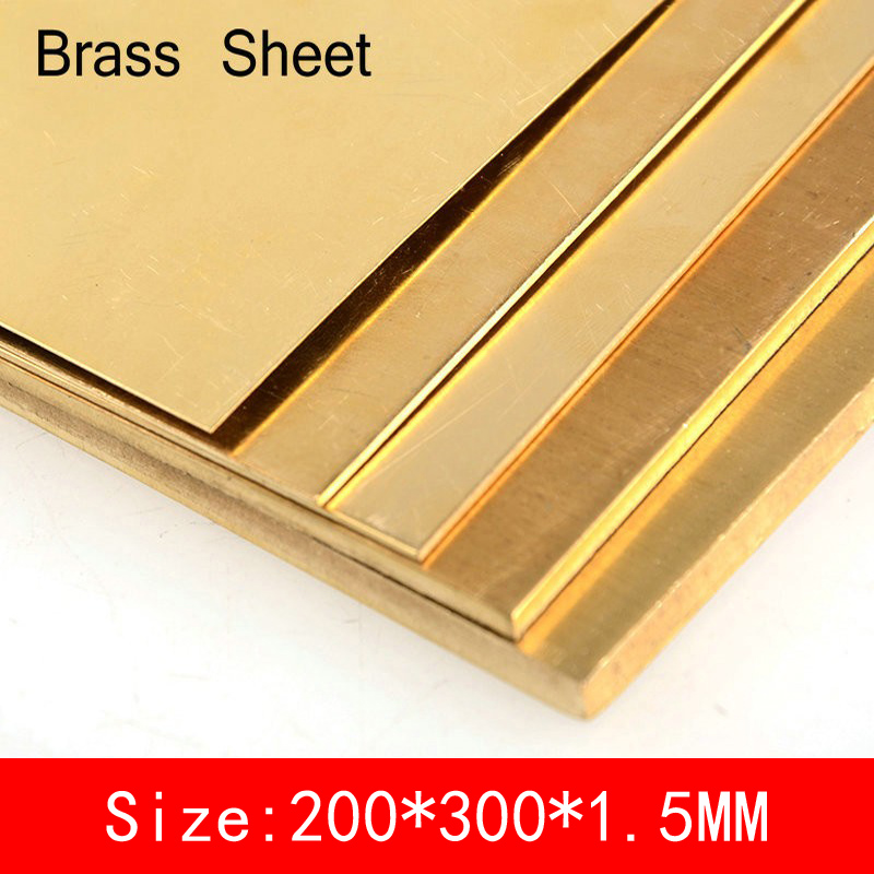 200*300*1.5mm Brass Sheet copper Plate of CuZn40 2.036 CW509N C28000 C3712 H62 Customized Size Laser CNC Cutting size 200 200 5mm teflon plate resistance high temperature work in degree celsius between 200 to 260 ptfe sheet