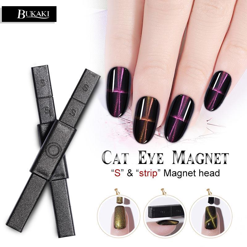 Begeistert Bukaki Magnetische Nagel Gel Starke Stick 3d Katze Auge Magnet Nail Art Maniküre Lack Doppel Headed Nail Art Maut Schmerzen Haben