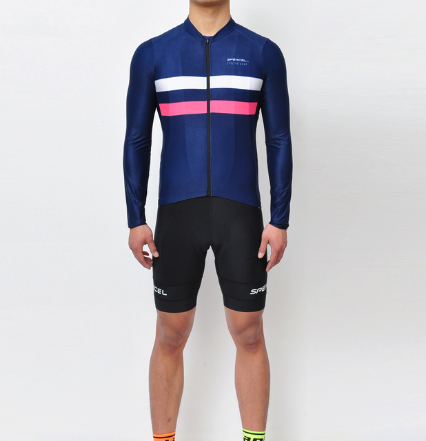 2017 Spexcel Speed Cycling Gear Pro Team Long Sleeve Cycling