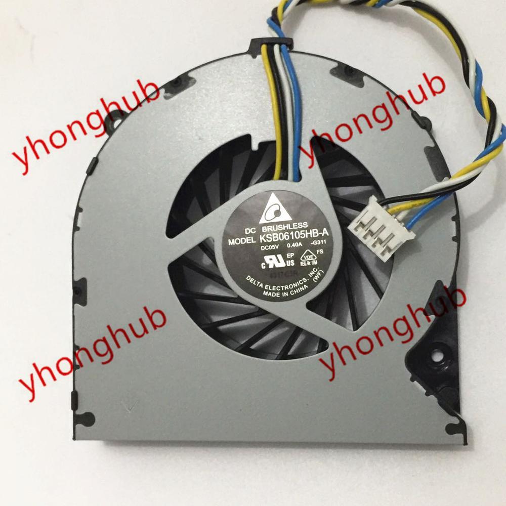 Delta KSB06105HB A G311 Matrimaxmini DC 5V 0 40A 4 wire Server Laptop Cooler Fan