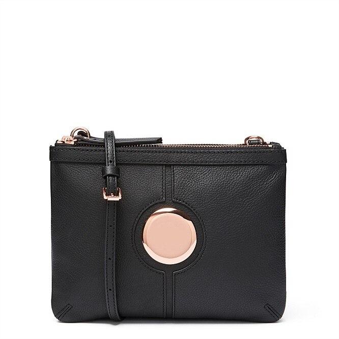 สีดำ ROSEGOLD ดำ MATE สีดำ MIM โซฟากระเป๋าแฟชั่นออสเตรเลีย CROSSBODY สะโพกกระเป๋า บน   1