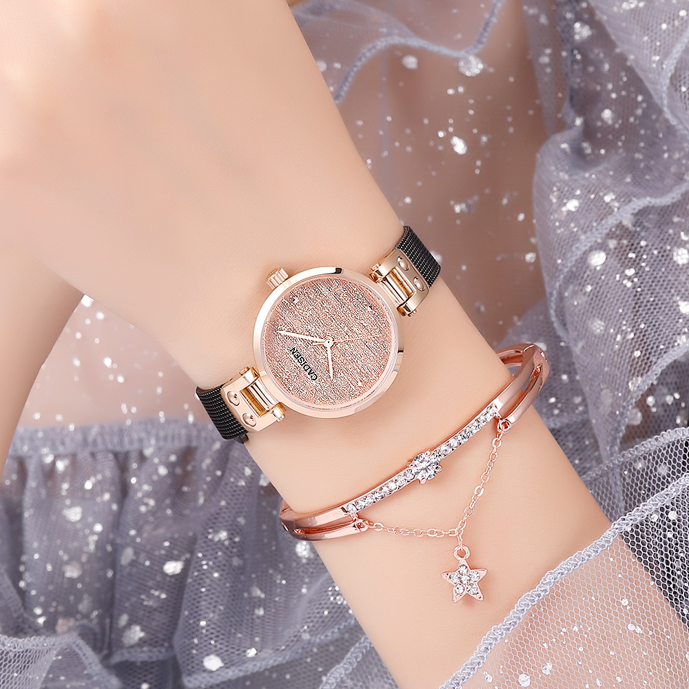 CADISEN 2019 New Women's Watches Ladies Luxury Brand Watch Fashion Lady Quartz Wristwatch Gold Sapphire Crystal Dial Reloj Mujer-in Women's Watches from Watches    2