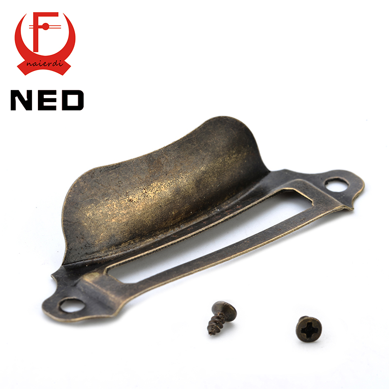 10pcs NED Antique Brass Metal Label Pull Frame Handle File Name Card Holder For Furniture Cabinet Drawer Box Case Hardware 2014new product 24w 2 4g rf touch remote control led ceiling panel 5630smd led lamp non polar dimming color temperature