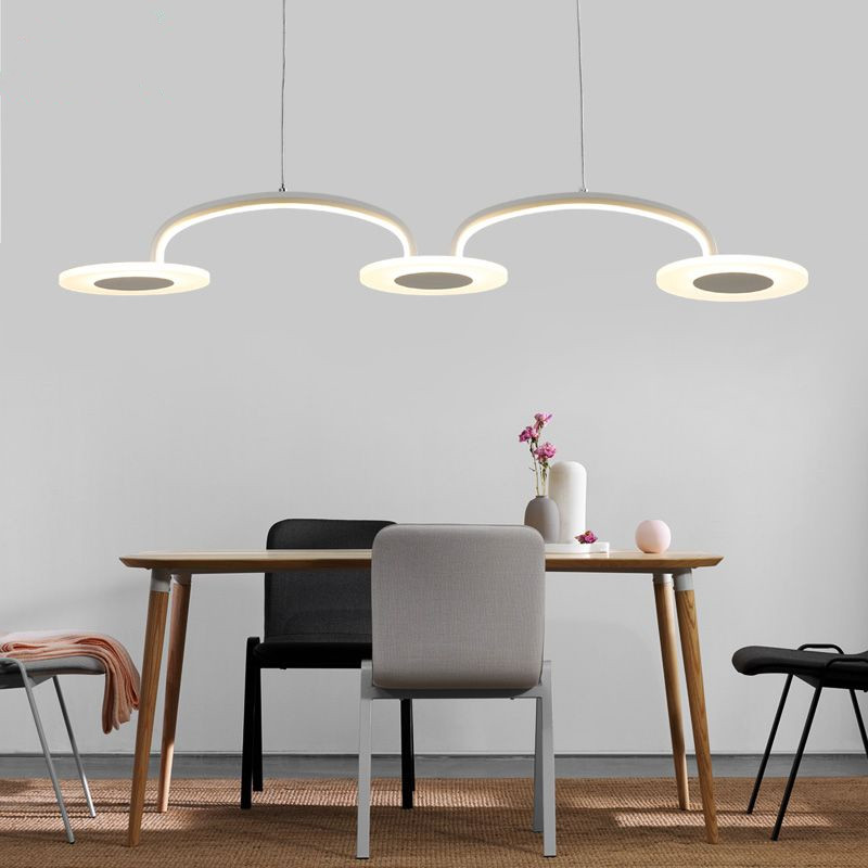 Modern Minimalism Led Pendant Light Dining Room Kitchen hanging Lighting indoor home Led Suspend Lamp Indoor Lighting Fixtures