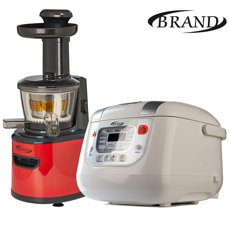 Set BRAND9100 BRAND502 Juicer+ multivarka electric digital 5L slow speed fruits vegetable citrus orange slowly extractor stainless steel hand wheat grass juicers manual auger slow juice fruit wheatgrass vegetable orange juice extractor machine