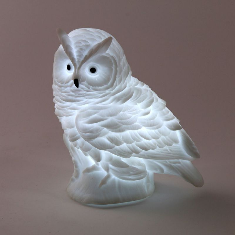 Led Night Light Rabbit Owl Lamp Silicone Dolls Nightlight Baby Bedroom Table LED Night Lamps