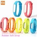 Original Xiaomi Miband 1S 1A Rubber Soft Strap Wristband Xiao Mi Band Strap Wristband Running Sport Watch 1 S 1 A Smart Bracelet