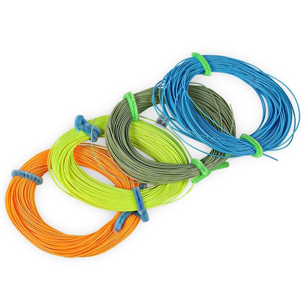 Hot sale 4 colors nylon fly fishing line new arrival fl001 for Nylon fishing line