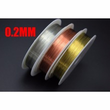 Tigofly 3 Colors 0.2mmX20m Thin Copper Wire Thread Midge Larvae Nymph Fly Fishing Lure Ribbing Body Making Fly Tying Materials