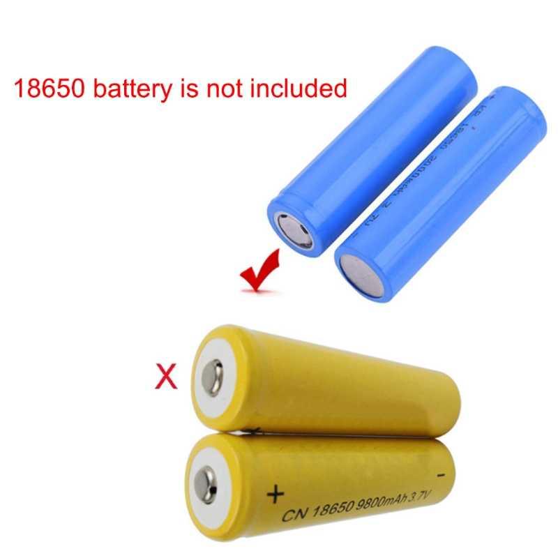 2020 nuevo portátil 5W al aire libre ventilador de luz LED enfriador de aire escritorio ventilador USB sin batería 18650