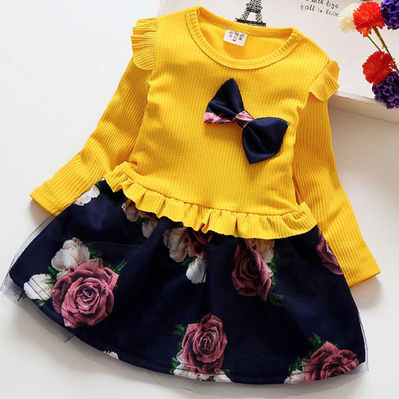 Girls Dress Clothing Spring Children's New-Fashion Net And