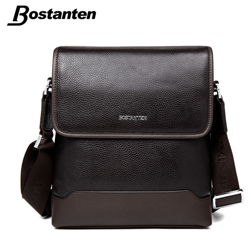 Bostanten 2016 New Cow Genuine Leather Mens