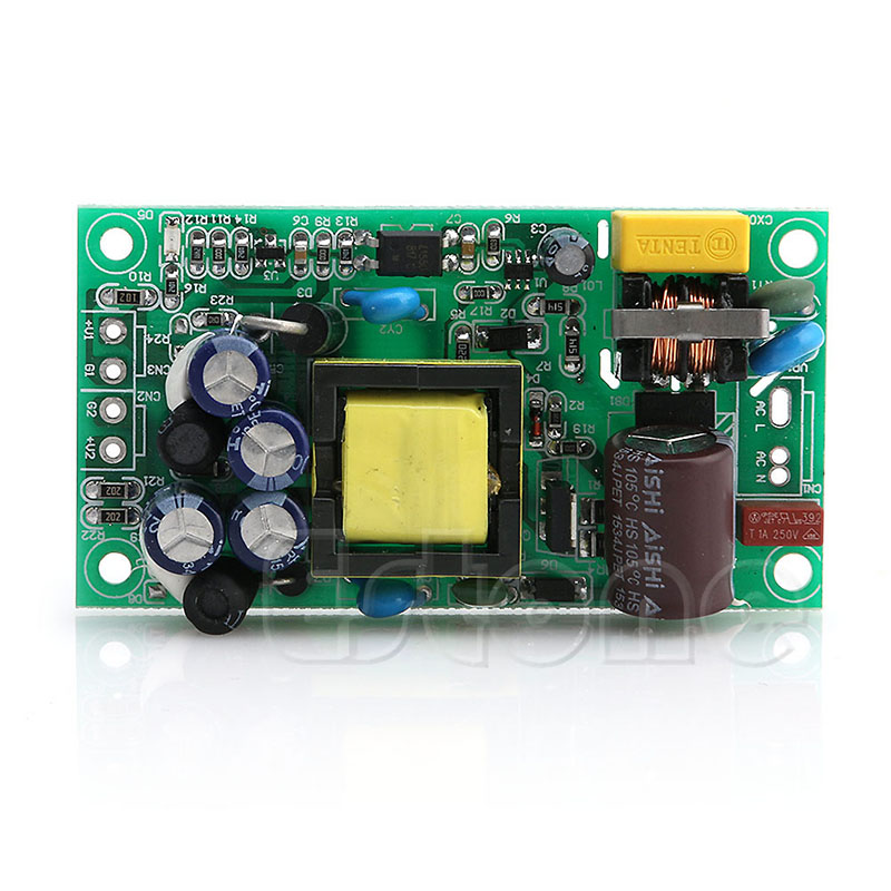 Input AC85-265V Dual Out AC to DC Power Module Supply Isolation Output 24V/5V 20v 1 2a power module 220v to 20v acdc direct switching power supply isolation can be customized