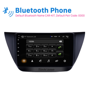 Image 2 - Seicane אנדרואיד 8.1 2Din 9 אינץ רכב Wifi GPS מולטימדיה נגן למיצובישי לנסר ix 2006 2007 2008 2009 2010 כולל מסגרת