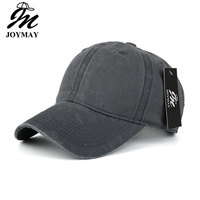 High Quality Washed Cotton Adjustable Solid Color Baseball Cap Unisex Couple Cap Fashion Leisure Casual HAT