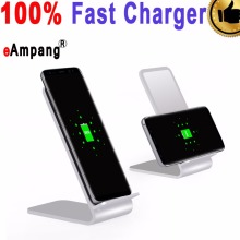 eAmpang Aluminum Alloy Fast Wireless Charger for Samsung Galaxy S6 S7 edge S8 Plus Note 8