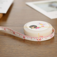 1.5M Sewing Ruler Meter Lovely Measuring Tool Cartoon Tape Measure Body Measuring Flexible Rule Tailor Measurement(China)
