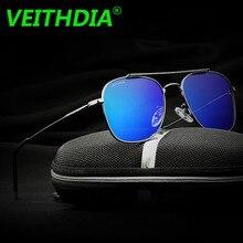 VEITHDIA Original Brand Aluminum Magnesium HD Lens Polarized Sunglasses Men Driving Goggles Mirror Sun Glasses Eyeglasses 3820