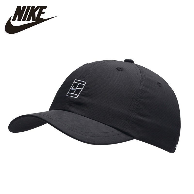 Oiginal Nike Dry-fit Outdoor Running Hat Quick Dry Baseball Hat Breathable Peaked Golf Cap