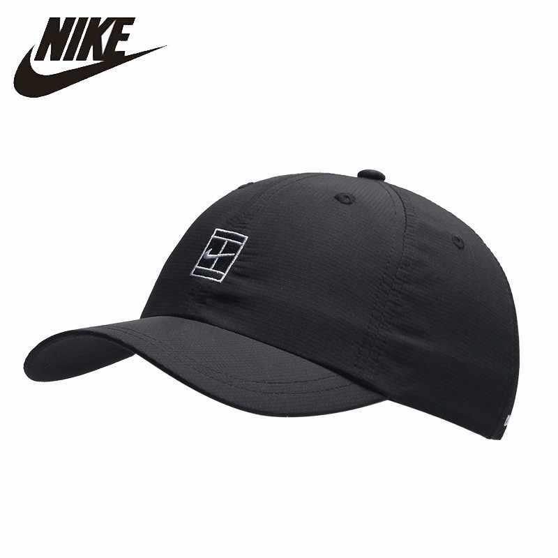 Oiginal ナイキドライフィット屋外ランニング帽子速乾性野球帽通気性ピークにゴルフキャップ