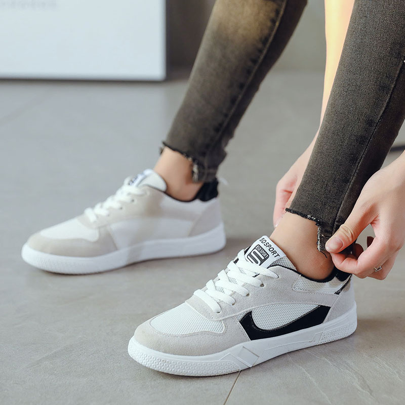 Women Casual Shoes 2018 Spring Autumn Mesh Women Shoes Fashion Women Shoes Breathable Flats Women Sneakers pinsen fashion women shoes summer breathable lace up casual shoes big size 35 42 light comfort light weight air mesh women flats