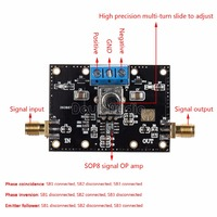 OPA1611 Precision Operational Amplifier Module Single OP AMP Audio Preamp Board